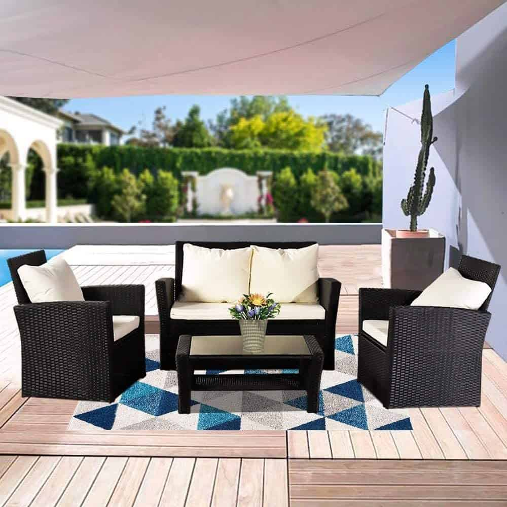 Outdoor Patio Furniture Set- The Recipe for Superb Holidays in Your Backyard 2
