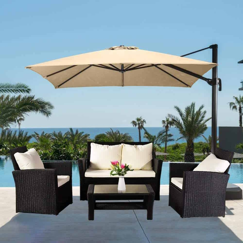Outdoor Patio Furniture Set: The Recipe for Superb Holidays in Your Backyard
